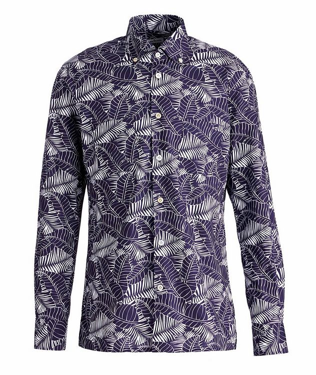 Ciro Tropical-Printed Cotton Shirt picture 1