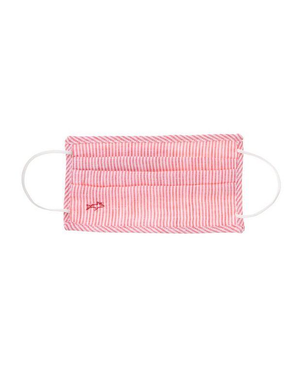 Short-Sleeve Striped Linen Shirt picture 2