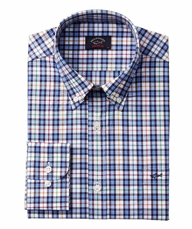 Checked Organic Cotton Shirt image 0