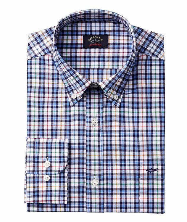 Checked Organic Cotton Shirt picture 1