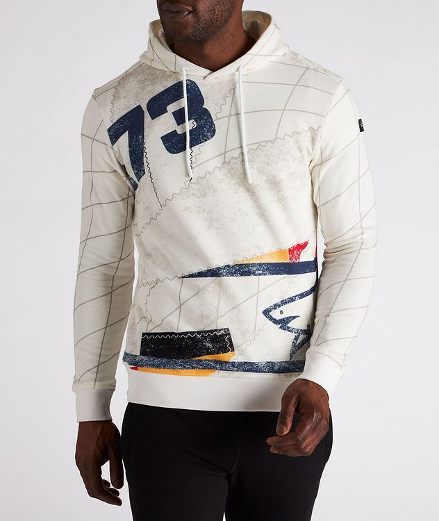Printed Organic Cotton Hoodie picture 2