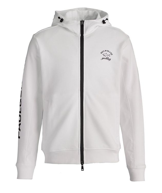 Organic Cotton Zip-Up Yachting Hoodie picture 1