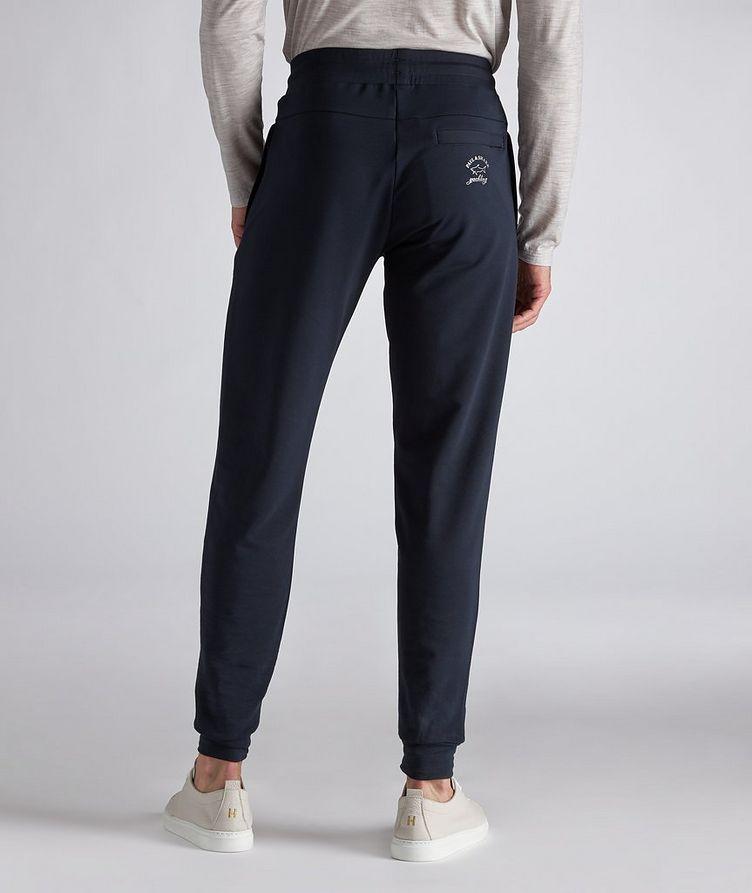 Stretch-Cotton Track Pants image 2