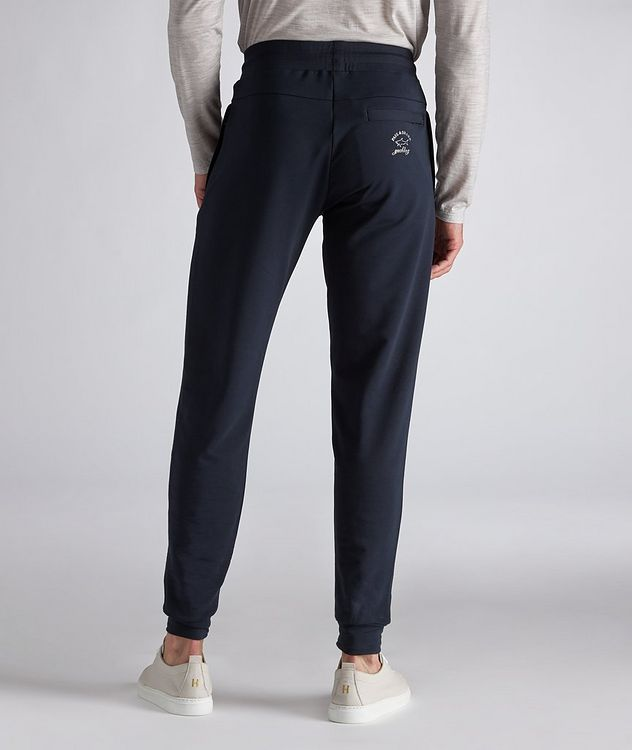 Stretch-Cotton Track Pants picture 3