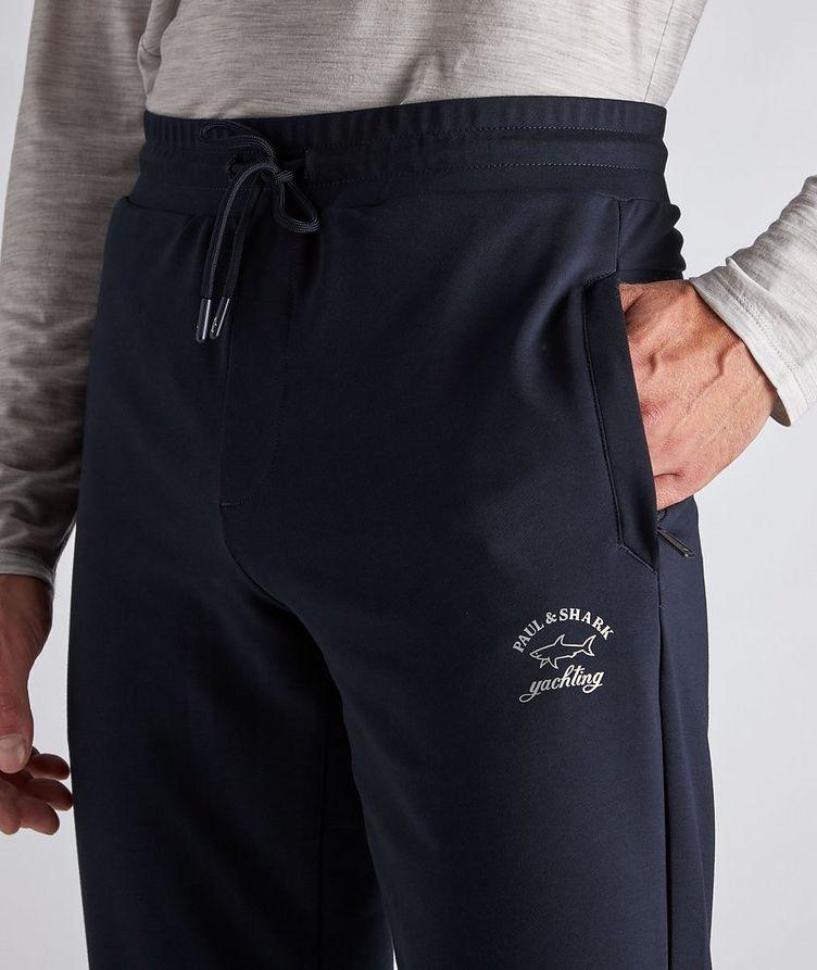Stretch-Cotton Track Pants image 3