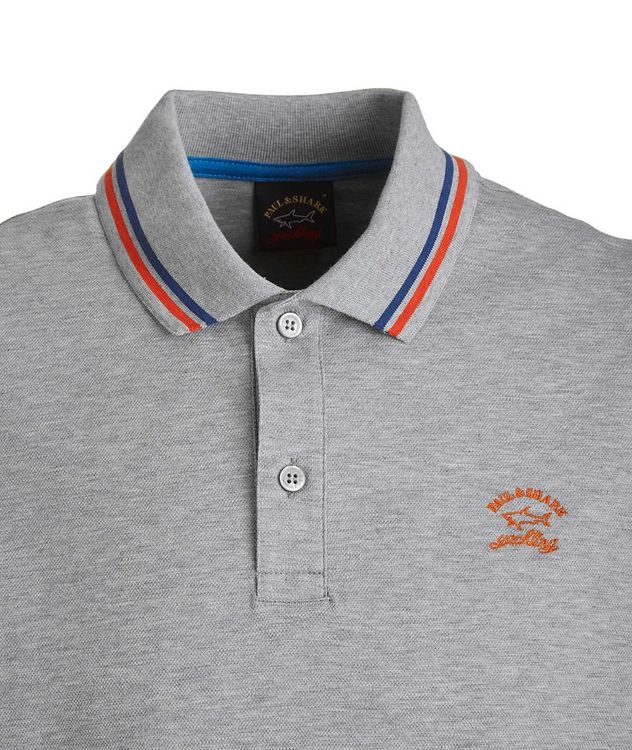 Tipped Piqué Organic Cotton Polo picture 2