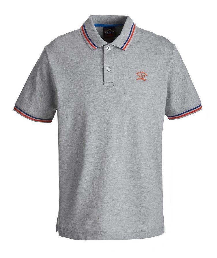 Tipped Piqué Organic Cotton Polo image 0