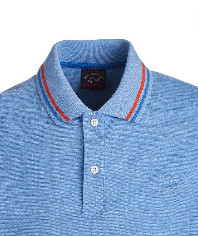 Tipped Piqué Organic Cotton Polo image 1