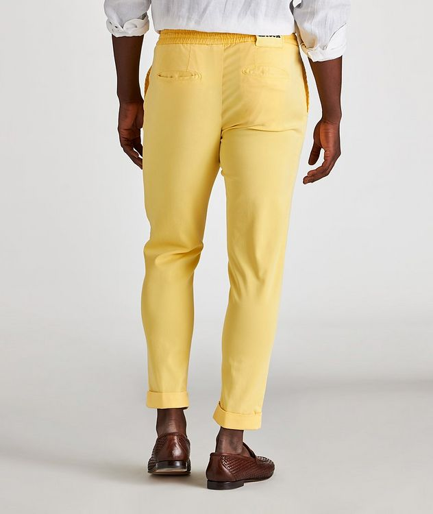 Stretch-Lyocell Drawstring Chinos picture 3