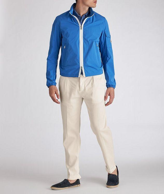 Linen-Stretch Cotton Drawstring Jeans picture 6