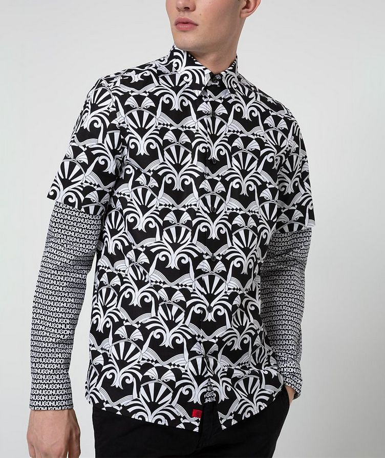 Short-Sleeve Printed Shirt image 1