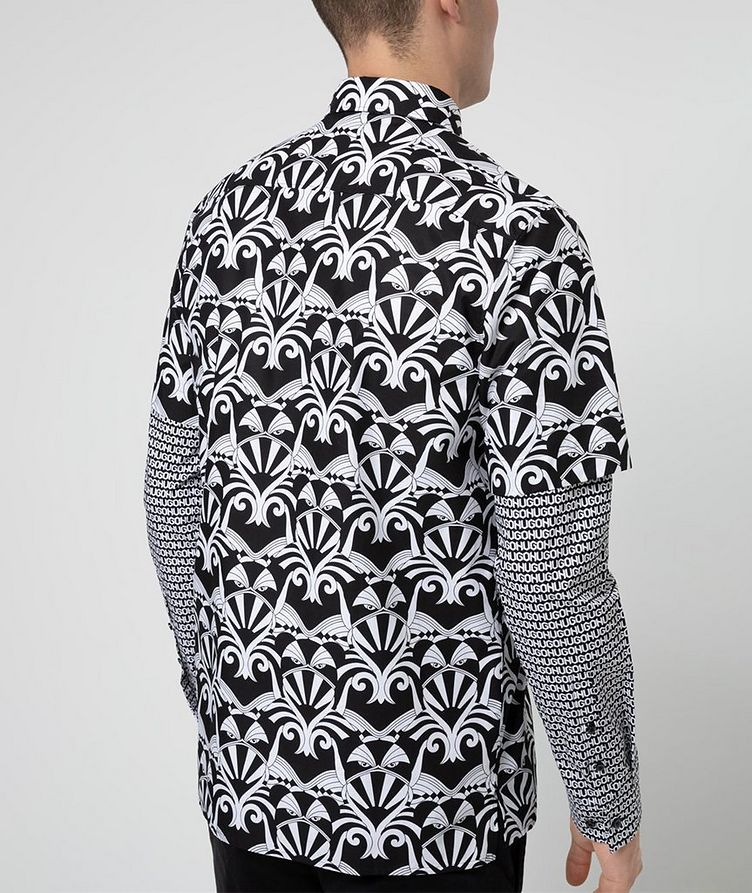 Short-Sleeve Printed Shirt image 2
