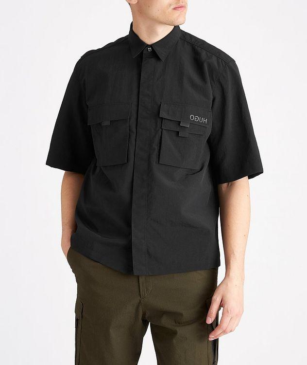 Ermilio Short-Sleeve Nylon Shirt picture 2