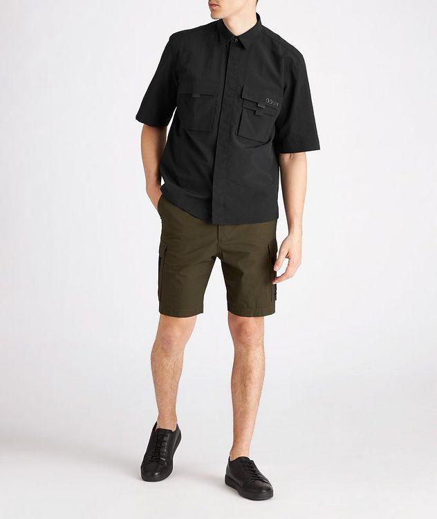 Ermilio Short-Sleeve Nylon Shirt picture 5