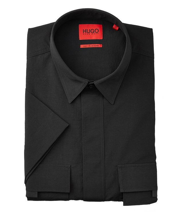 Ermilio Short-Sleeve Nylon Shirt picture 1