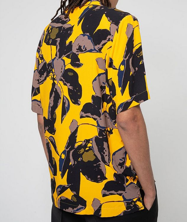Short-Sleeve Tropical-Printed Shirt picture 3