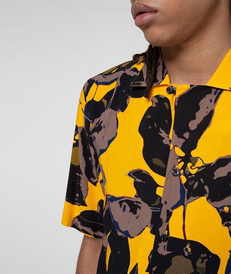 Short-Sleeve Tropical-Printed Shirt image 3