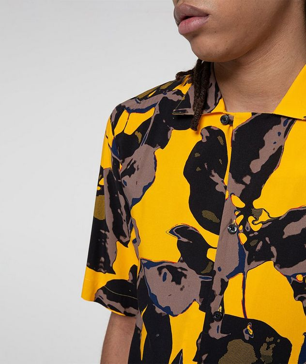 Short-Sleeve Tropical-Printed Shirt picture 4
