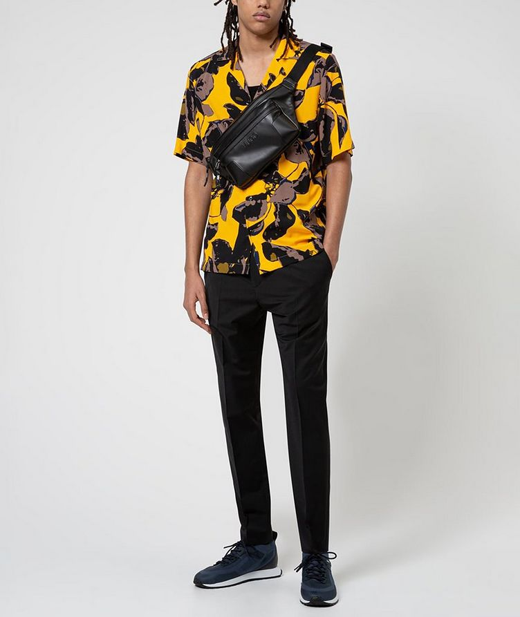 Short-Sleeve Tropical-Printed Shirt image 4