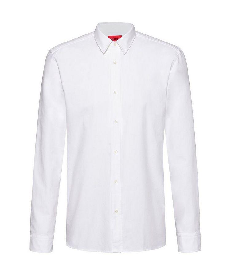 Oxford Printed Cotton Shirt image 0