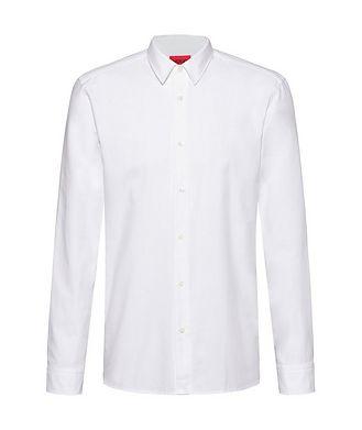 HUGO Oxford Printed Cotton Shirt