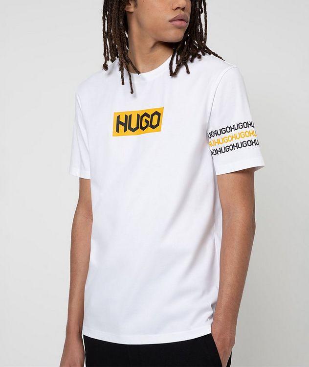 Logo Print Cotton T-Shirt picture 2