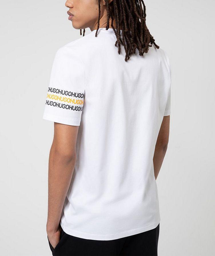 Logo Print Cotton T-Shirt image 2