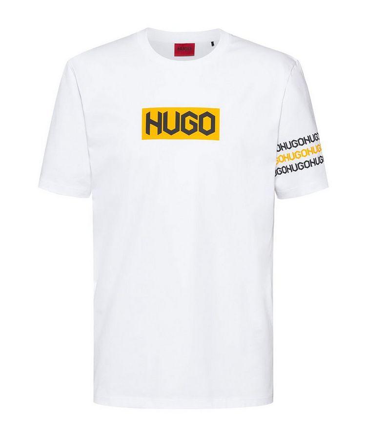 Logo Print Cotton T-Shirt image 0