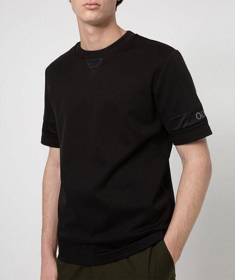 Cotton Mesh T-Shirt image 1