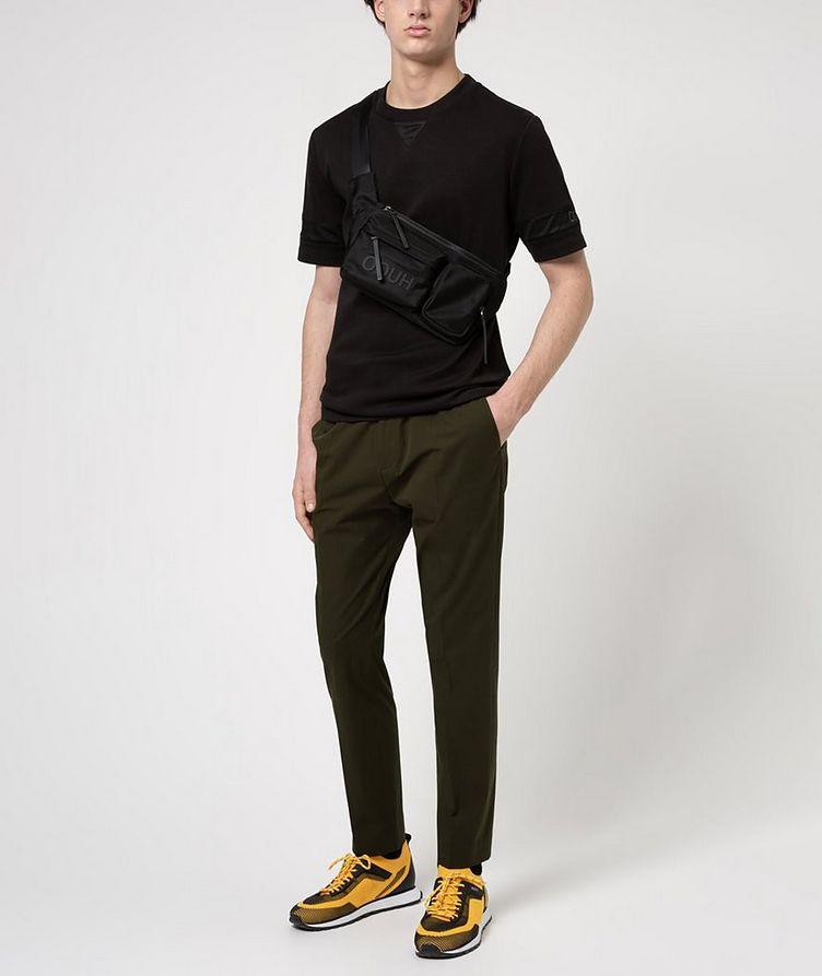Cotton Mesh T-Shirt image 3