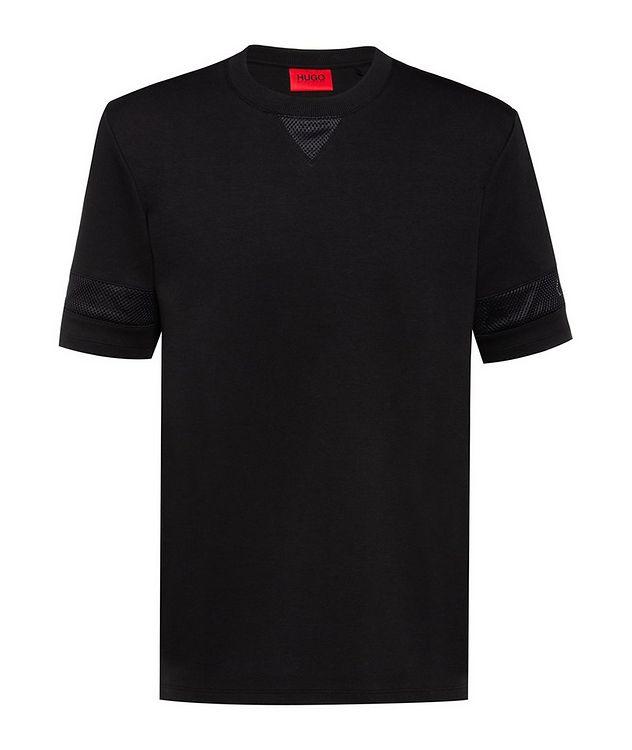 Cotton Mesh T-Shirt picture 1