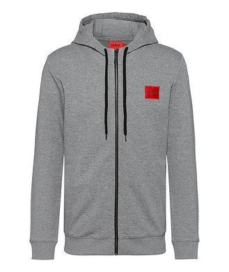 HUGO Zip-Up Logo Sweater