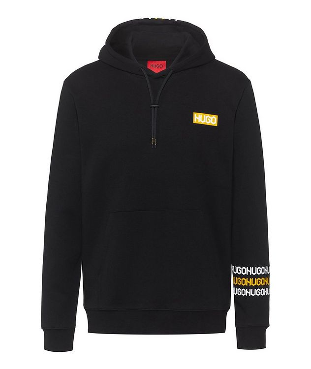 Logo Print Cotton Hoodie picture 1