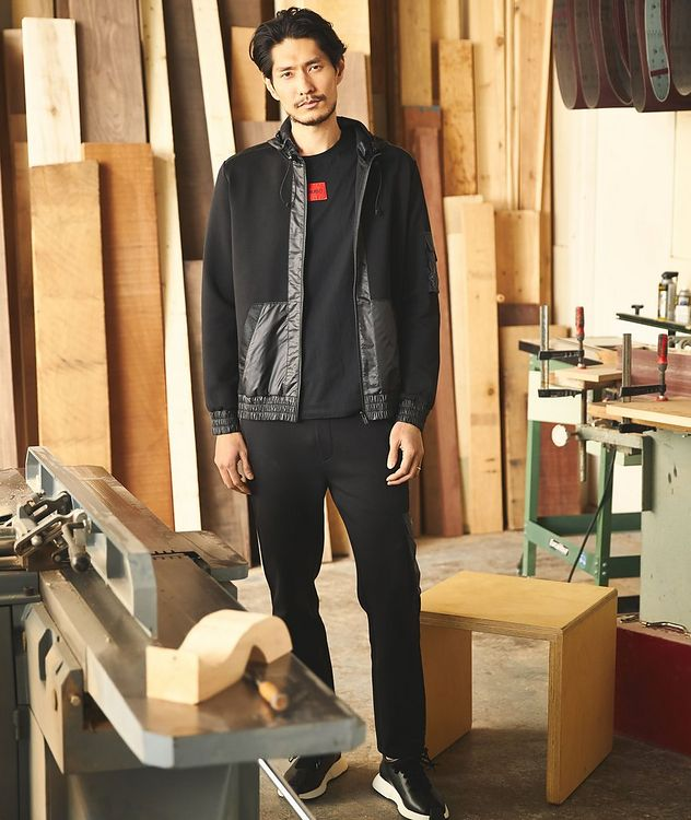 Dushi Zip-Up Cotton Hoodie picture 2