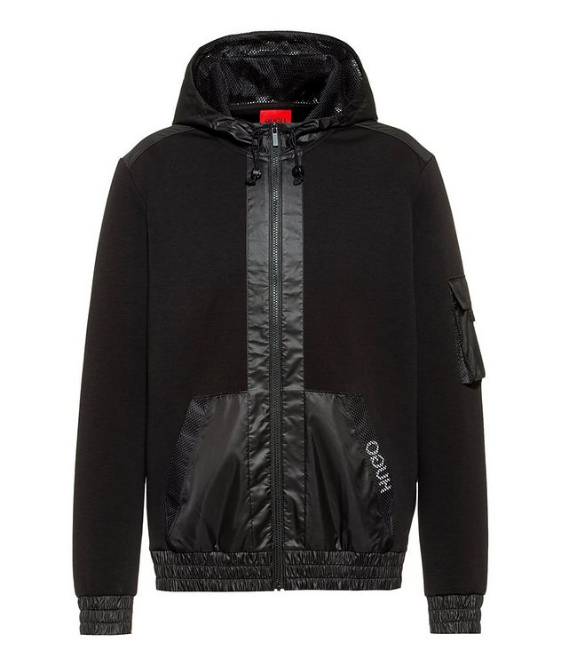 Dushi Zip-Up Cotton Hoodie picture 1