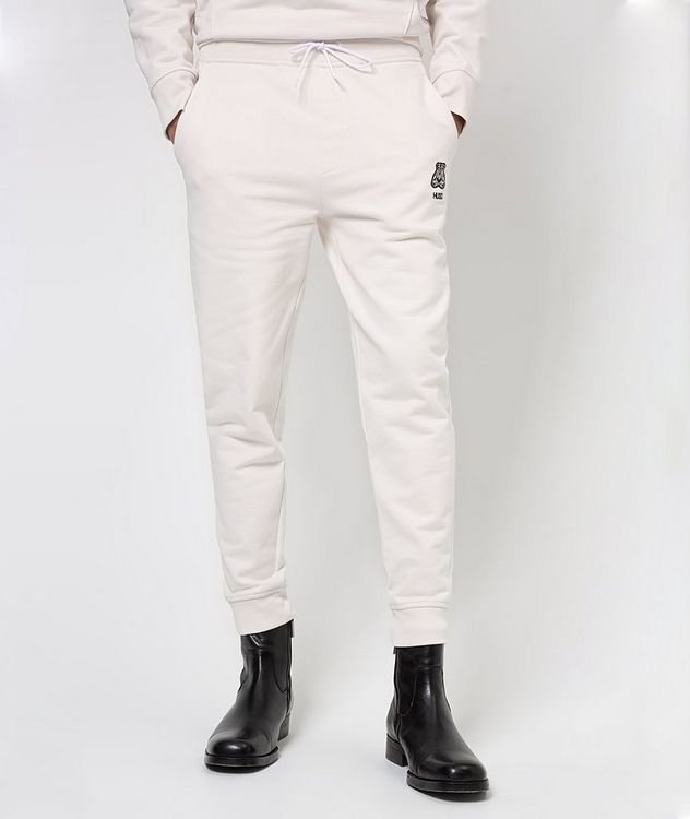 Printed Cotton Joggers picture 2