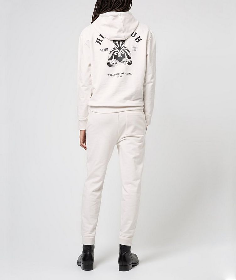 Printed Cotton Joggers image 2