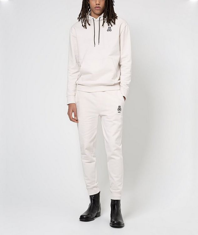 Printed Cotton Joggers picture 4