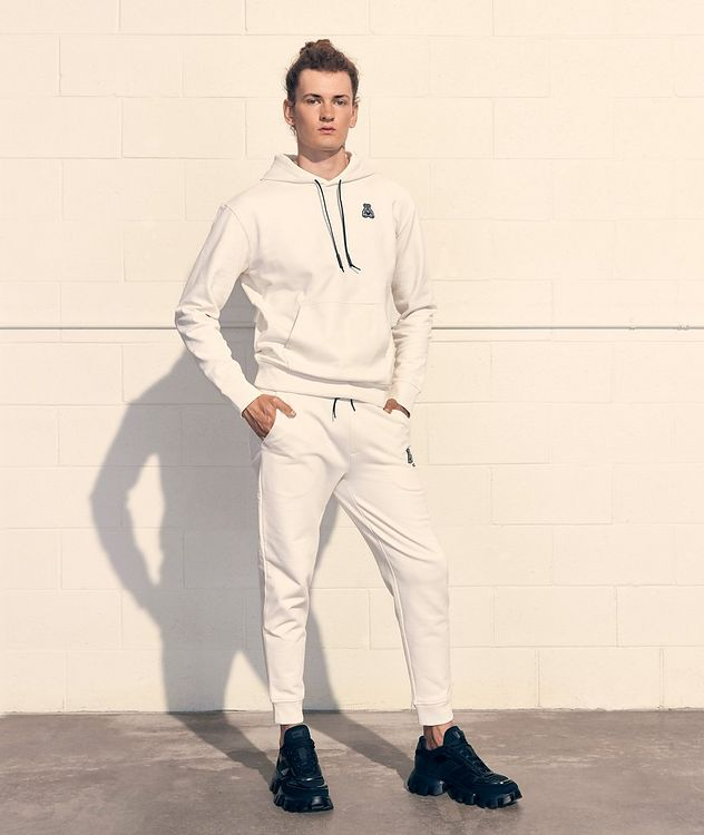 Printed Cotton Joggers picture 7