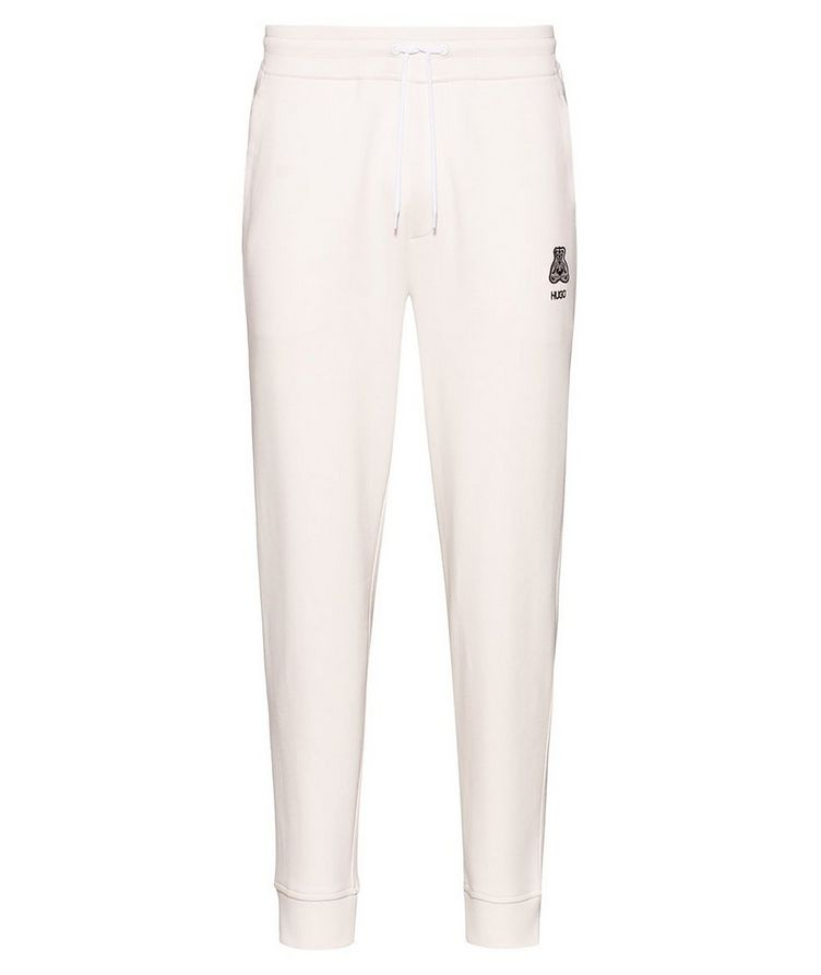 Printed Cotton Joggers image 0