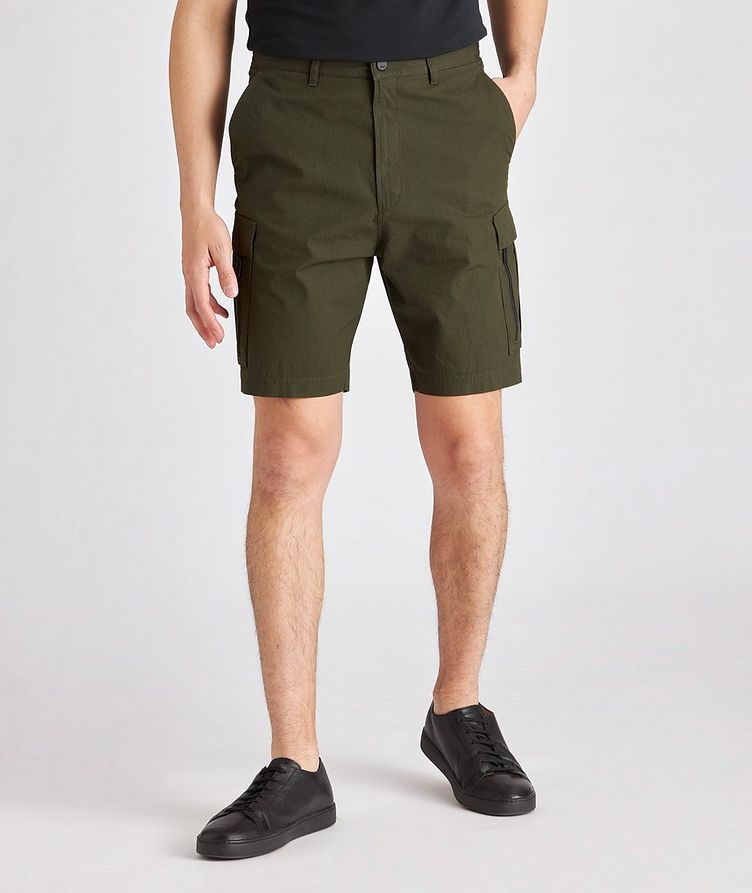 Johnny212 Rip-Stop Stretch-Cotton Cargo Shorts image 1