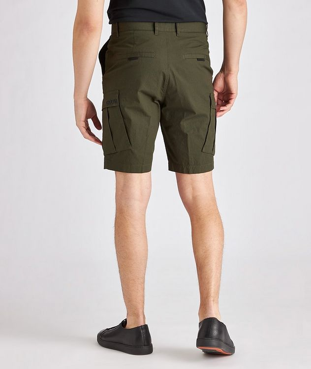Johnny212 Rip-Stop Stretch-Cotton Cargo Shorts picture 3