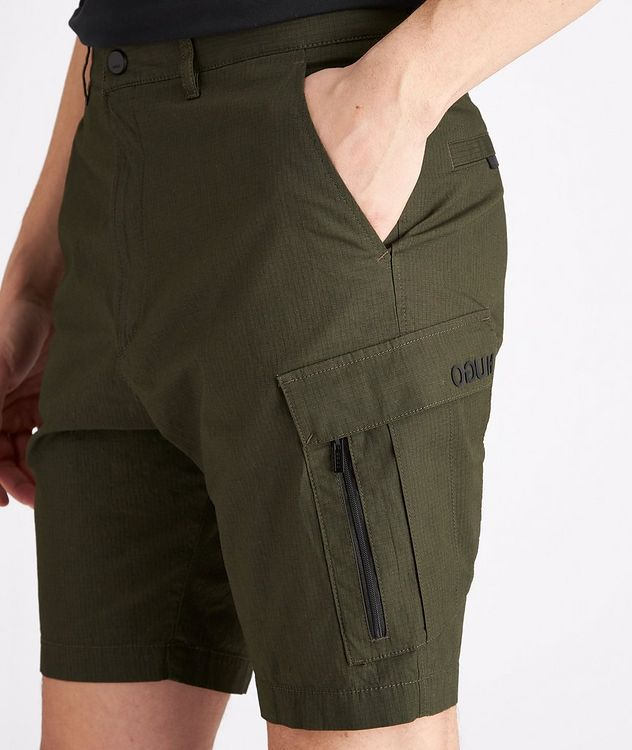 Johnny212 Rip-Stop Stretch-Cotton Cargo Shorts picture 4