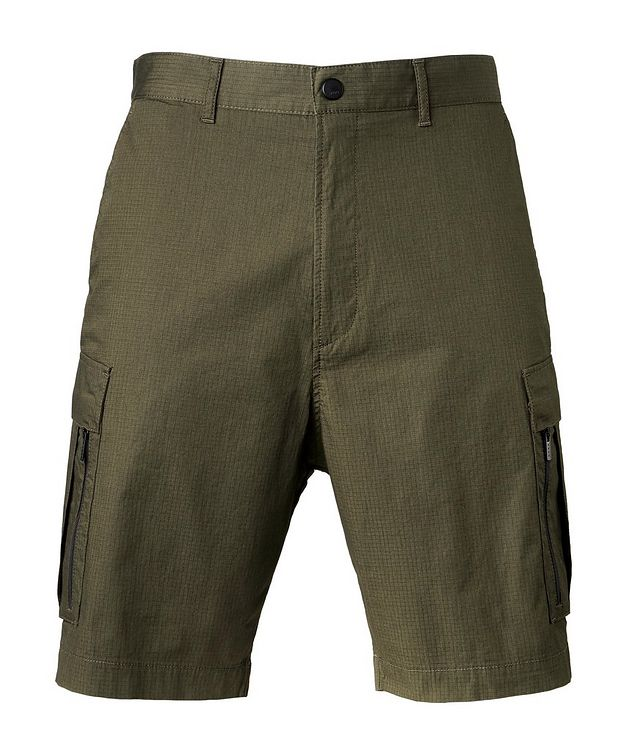 Johnny212 Rip-Stop Stretch-Cotton Cargo Shorts picture 1