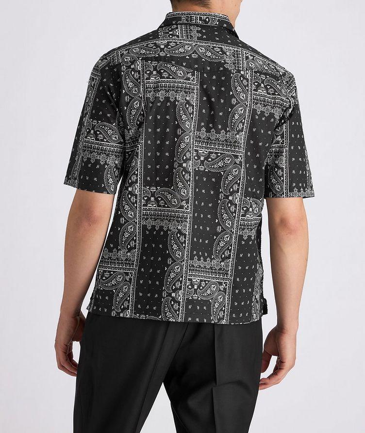 Eren Short-Sleeve Printed Cotton Shirt image 2