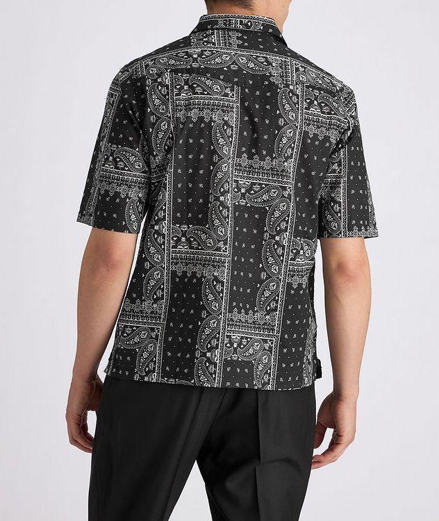 Eren Short-Sleeve Printed Cotton Shirt picture 3