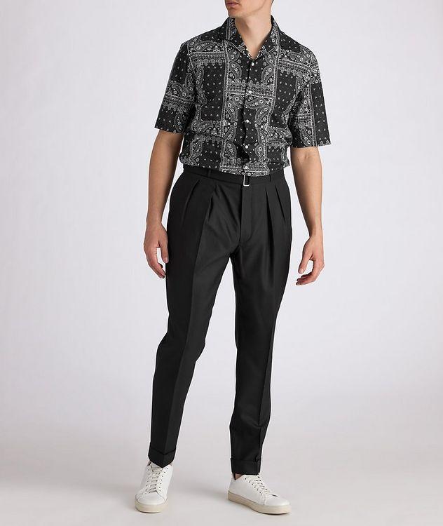 Eren Short-Sleeve Printed Cotton Shirt picture 4