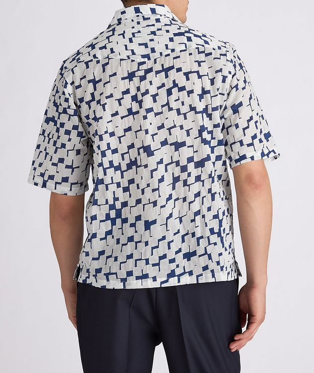 Eren Short-Sleeve Printed Cotton Shirt picture 3