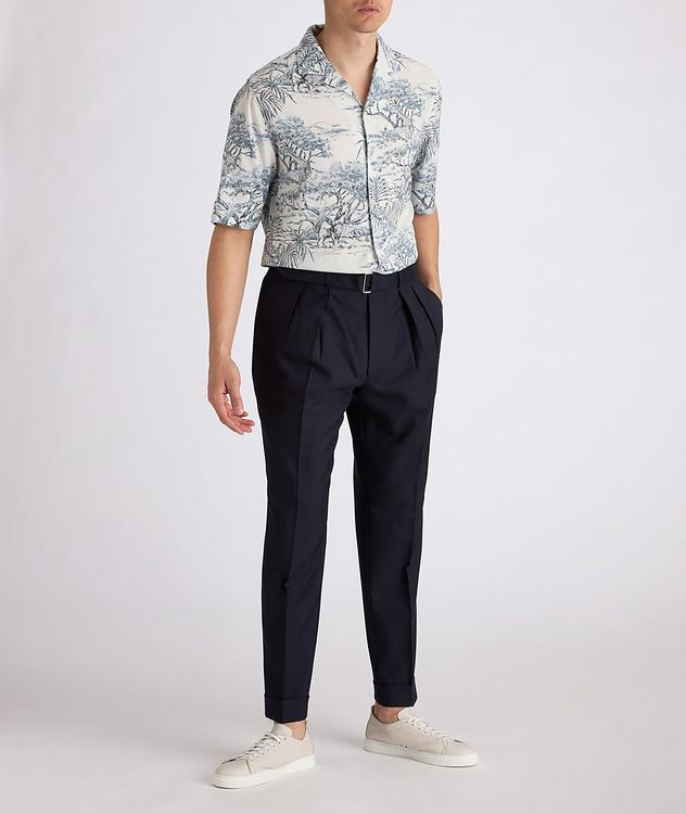 Eren Short-Sleeve Printed Shirt picture 4