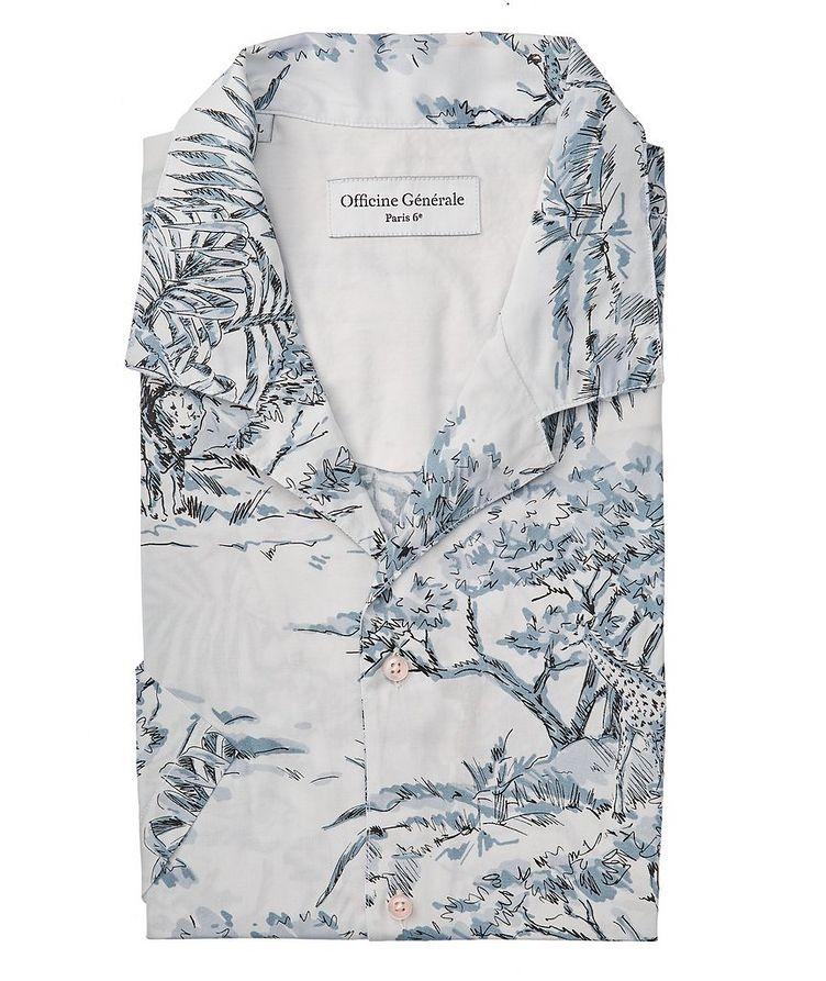 Eren Short-Sleeve Printed Shirt image 0